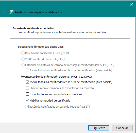 encriptar un archivo paso 2