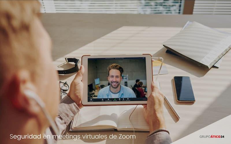 Meetings de zoom seguros