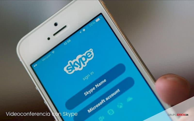 videoconferencias con Skype
