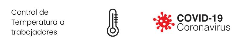 Control de Temperatura trabajadores covid19