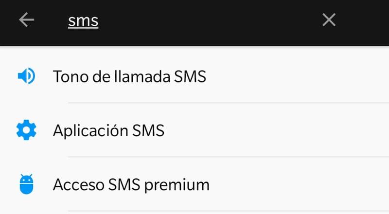 deshabilitar acceso a sms premium
