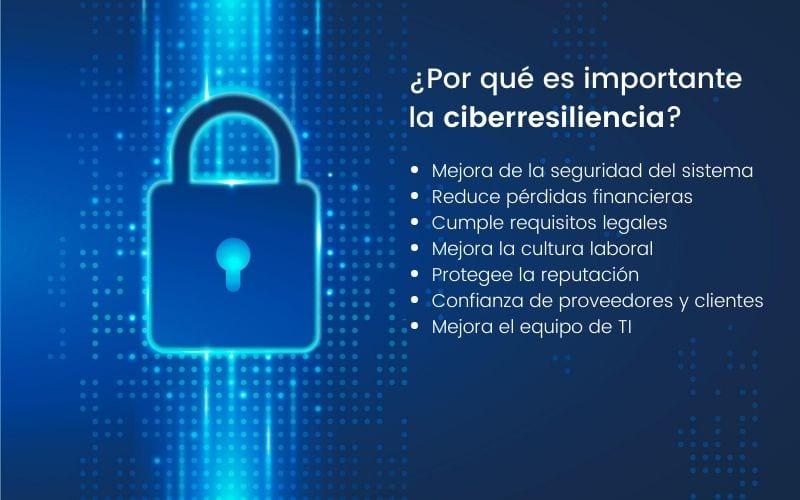 importancia de la ciber resiliencia