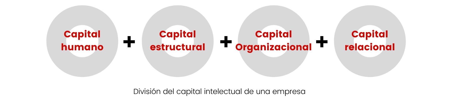 Cómo se divide el capital intelectual de la empresa