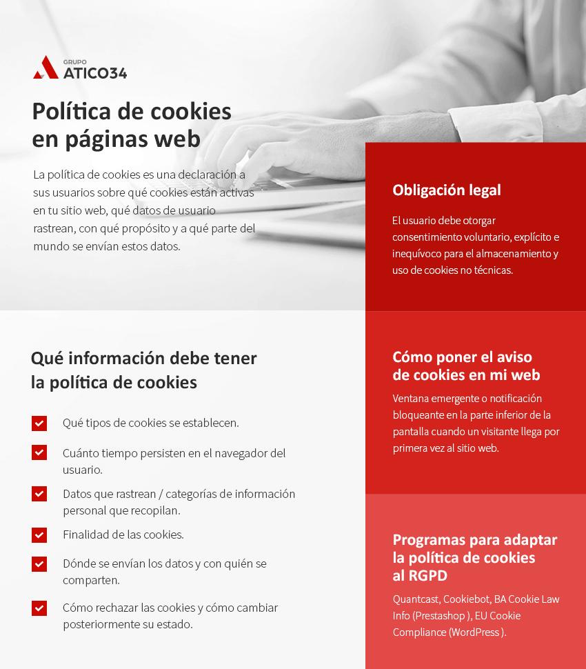 politica cookies paginas web