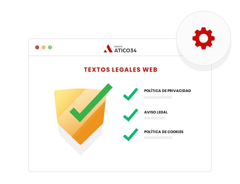 Tipos de textos legales para web