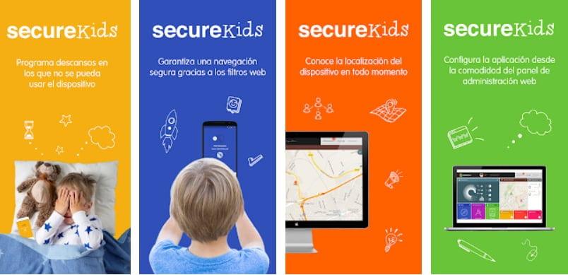 App de control parental: SecureKid