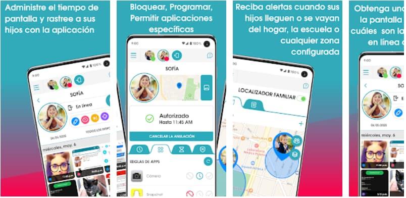 App de control parental: OurPact