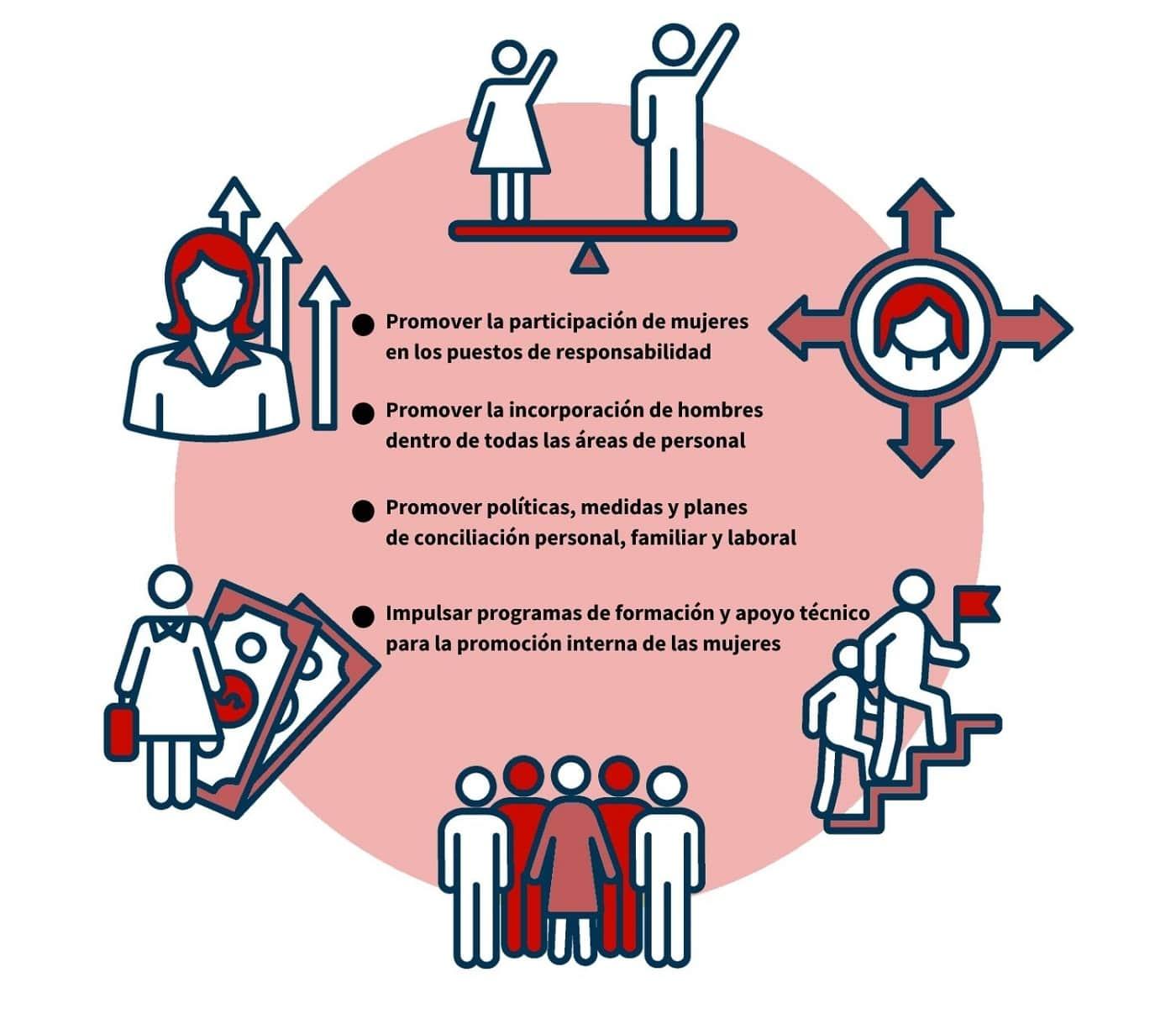 Objetivos del plan de igualdad en una ONG