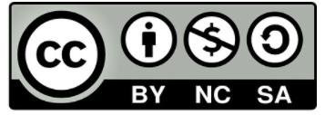 Reconocimiento No Comercial – Compartir Igual (BY-NC-SA)