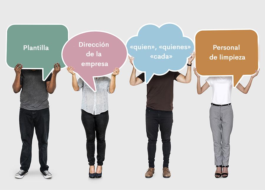 Cómo aplicar el lenguaje inclusivo y no sexista en mi empresa